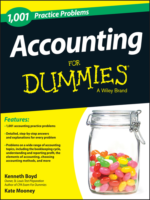 Title details for 1,001 Accounting Practice Problems For Dummies by Kenneth W. Boyd - Available