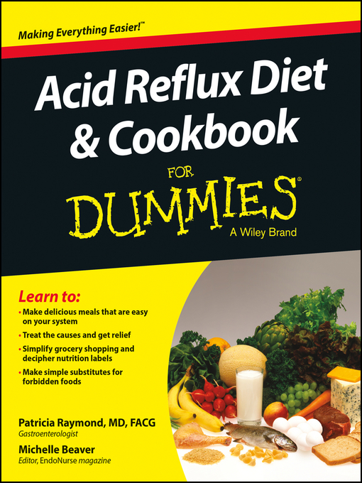 Title details for Acid Reflux Diet and Cookbook For Dummies by Patricia Raymond - Available