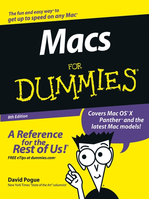 Title details for Macs for Dummies by David Pogue - Available