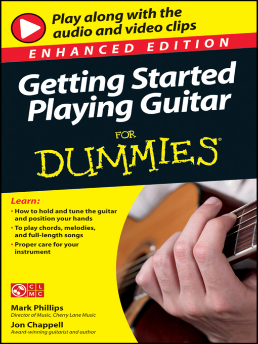 Title details for Getting Started Playing Guitar For Dummies by Mark Phillips - Available