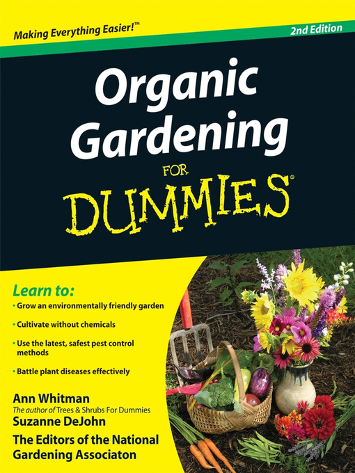 Title details for Organic Gardening For Dummies® by Ann Whitman - Available