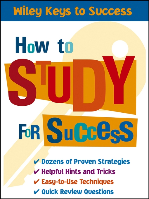 Cover of How to Study for Success