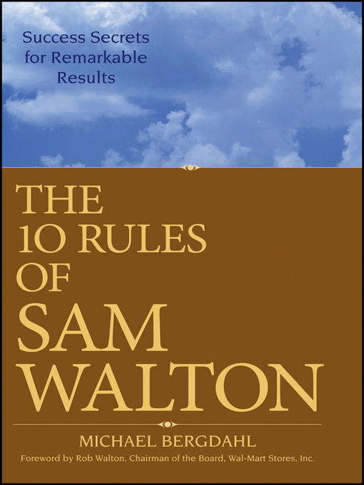 an essay on the life and success of sam walton