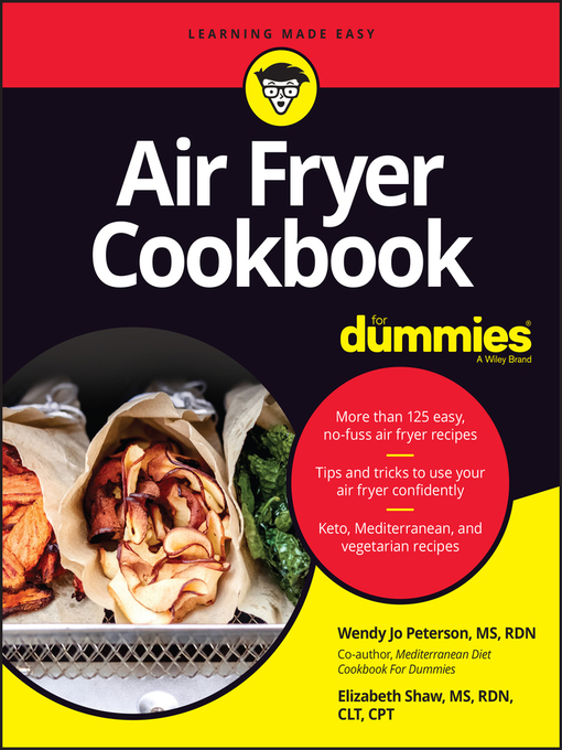 Title details for Air Fryer Cookbook For Dummies by Wendy Jo Peterson - Available