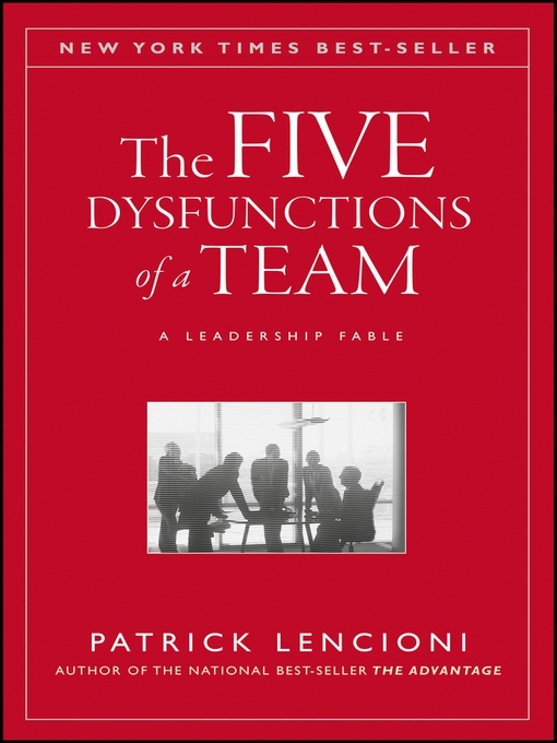 Cover of The Five Dysfunctions of a Team