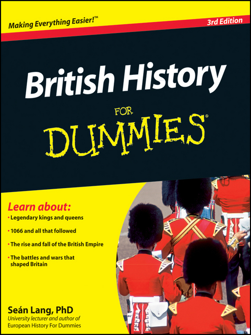 Title details for British History For Dummies by Se?n Lang - Available