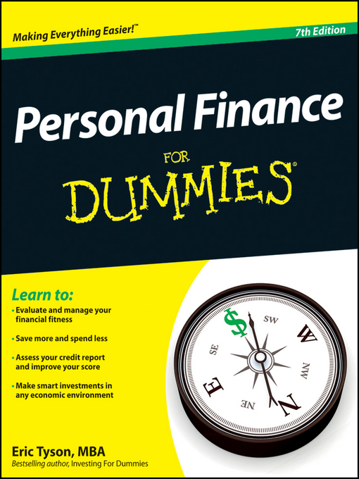 Title details for Personal Finance For Dummies by Eric Tyson - Wait list