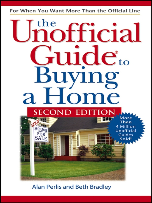 Cover of The Unofficial Guide to Buying a Home