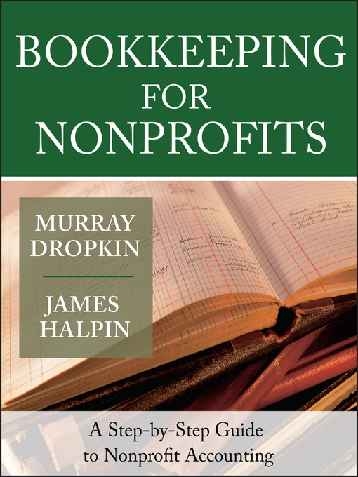 Title details for Bookkeeping for Nonprofits by Murray Dropkin - Available
