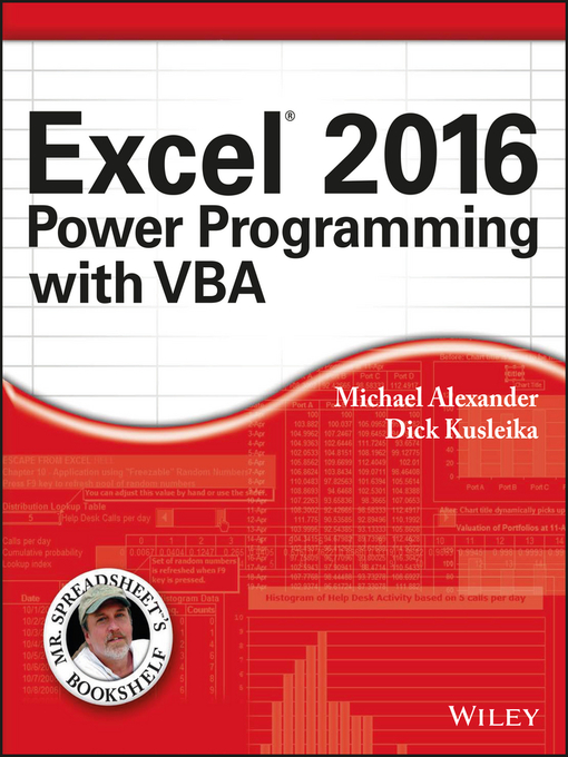 Excel 2016 Power Programming with VBA - National Library Board