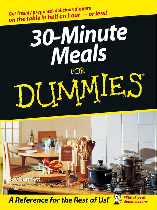 Title details for 30-Minute Meals For Dummies by Bev Bennett - Available