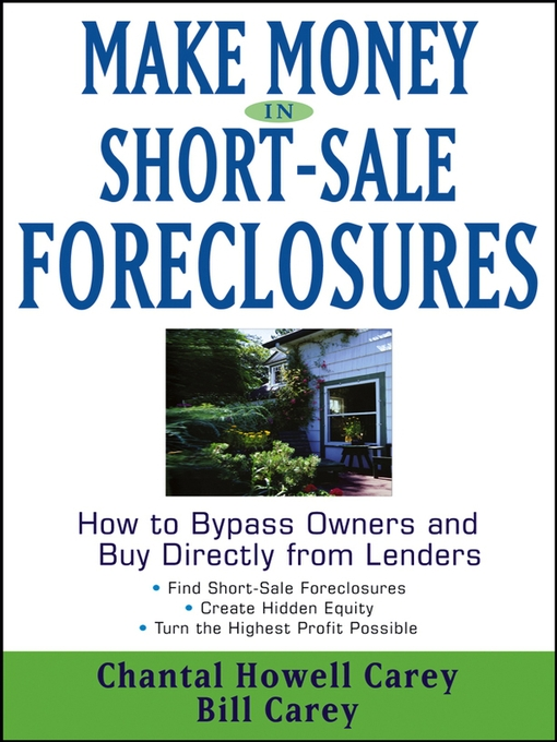 Cover of Make Money in Short-Sale Foreclosures