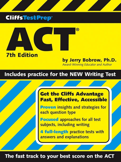 Title details for CliffsTestPrep ACT by Jerry Bobrow, Ph.D. - Wait list