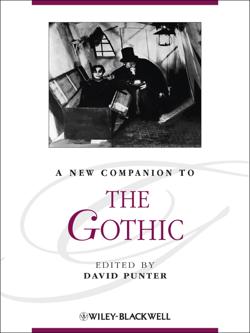 Title details for A New Companion to the Gothic by David Punter - Available