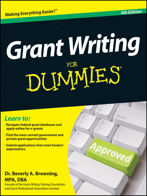 Title details for Grant Writing For Dummies by Beverly A. Browning - Available