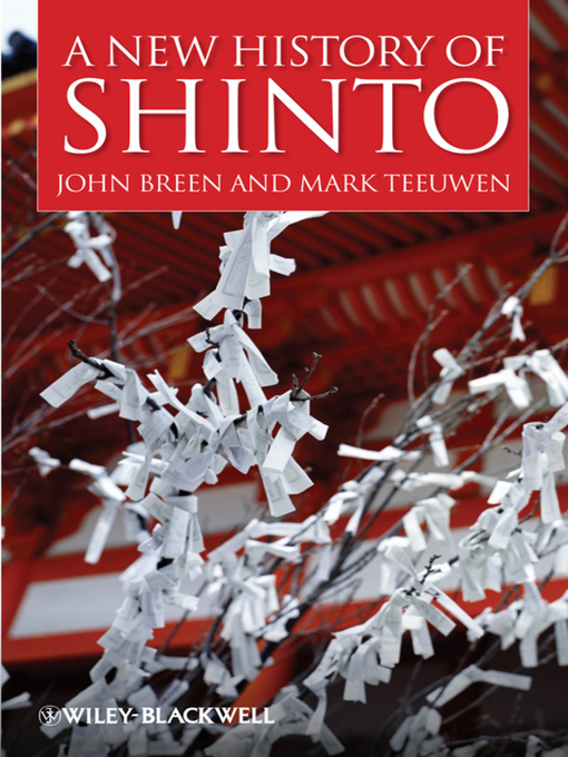 Cover of A New History of Shinto