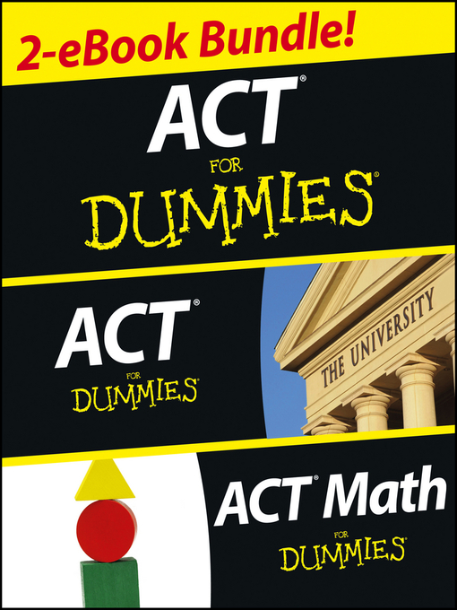 Title details for ACT For Dummies Two eBook Bundle by Scott Hatch - Available