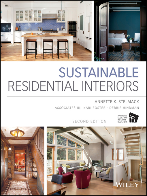 Title details for Sustainable Residential Interiors by Annette Stelmack - Wait list