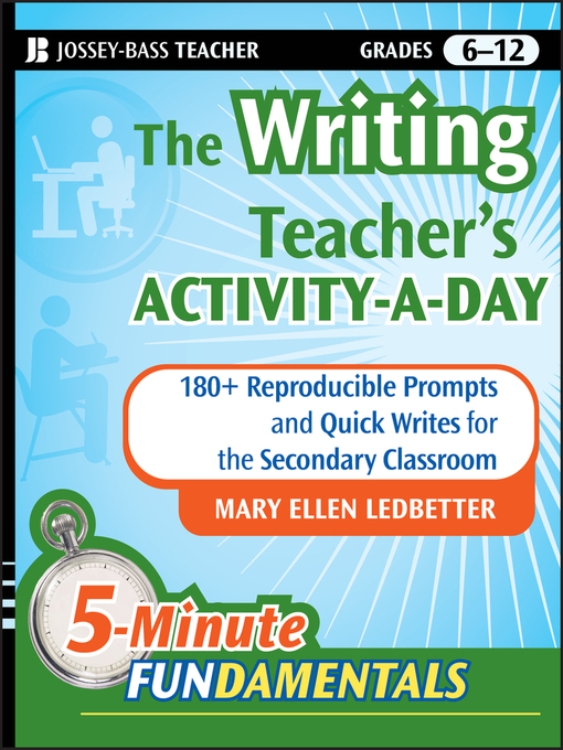 Title details for The Writing Teacher's Activity-a-Day by Mary Ellen Ledbetter - Available