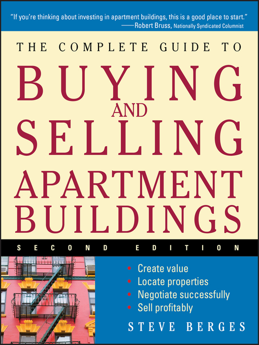 Title details for The Complete Guide to Buying and Selling Apartment Buildings by Steve Berges - Available