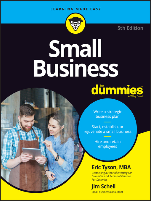 Title details for Small Business For Dummies by Eric Tyson - Available