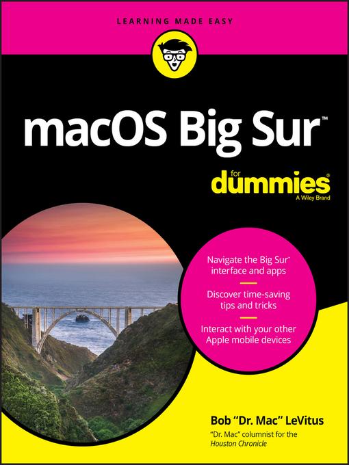 Title details for macOS Big Sur For Dummies by Bob LeVitus - Available