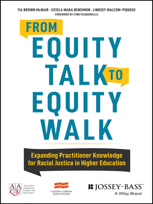 Title details for From Equity Talk to Equity Walk by Tia Brown McNair - Available