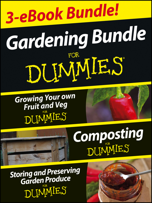 Title details for Gardening For Dummies Three e-book Bundle by Geoff Stebbings - Available