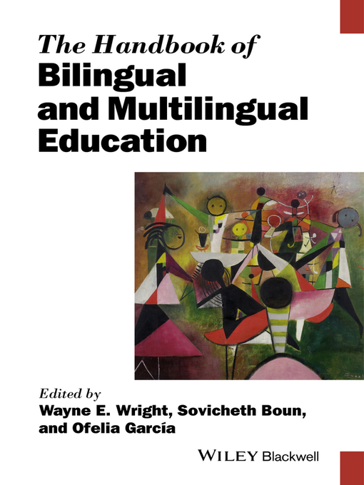 Cover of The Handbook of Bilingual and Multilingual Education