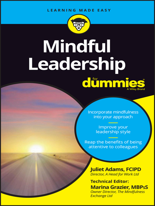 Title details for Mindful Leadership for Dummies by Juliet Adams - Available