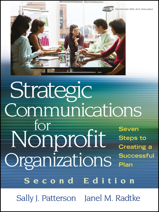 Title details for Strategic Communications for Nonprofit Organization by Sally J. Patterson - Wait list