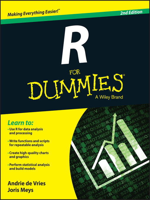 Title details for R For Dummies by Andrie de Vries - Available