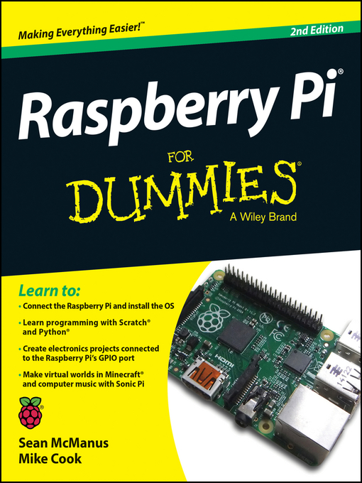 Title details for Raspberry Pi For Dummies by Sean McManus - Available