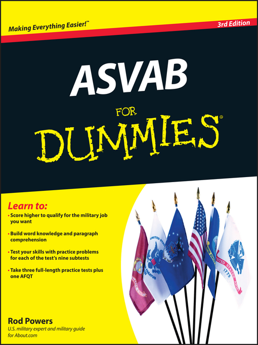Title details for ASVAB For Dummies by Rod Powers - Available