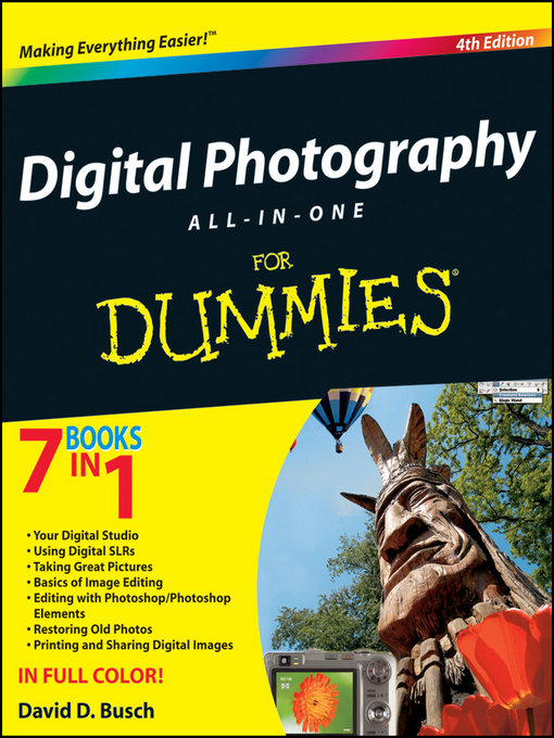 Cover of Digital Photography All-in-One Desk Reference For Dummies®