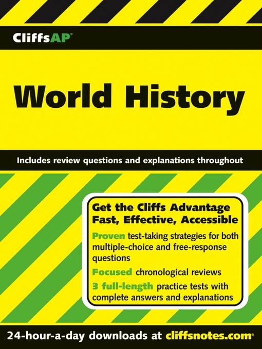 Title details for CliffsAP World History by Fred N. Grayson - Wait list