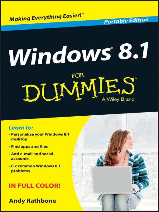 Title details for Windows 8.1 For Dummies, Portable Edition by Andy Rathbone - Wait list
