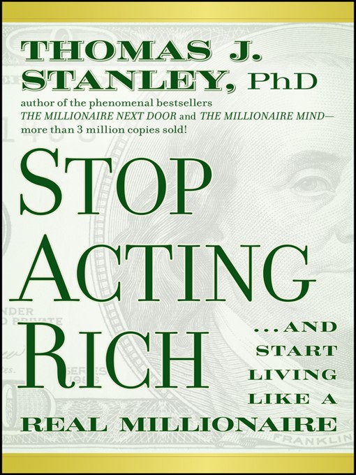 Cover of Stop Acting Rich