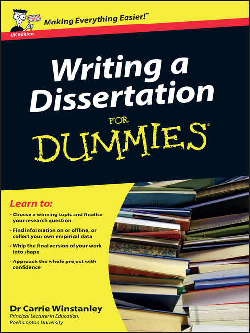 dummies guide to writing a research paper