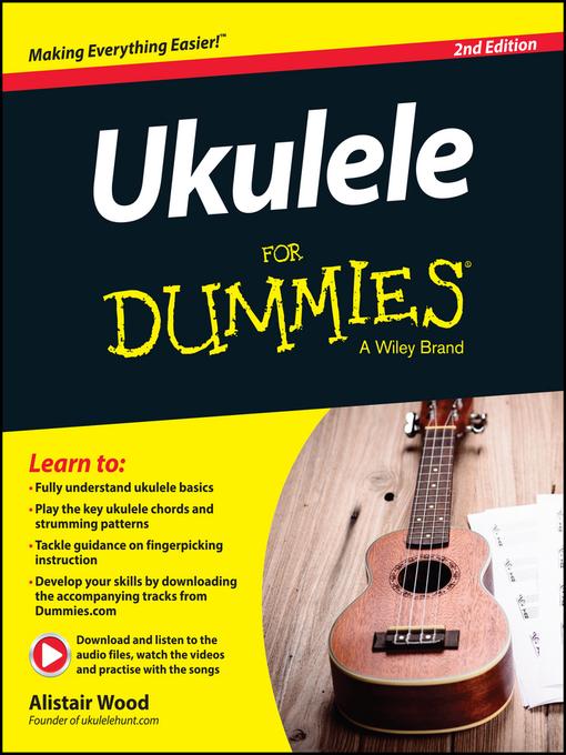 Ukulele For Dummies National Library Board Singapore Overdrive