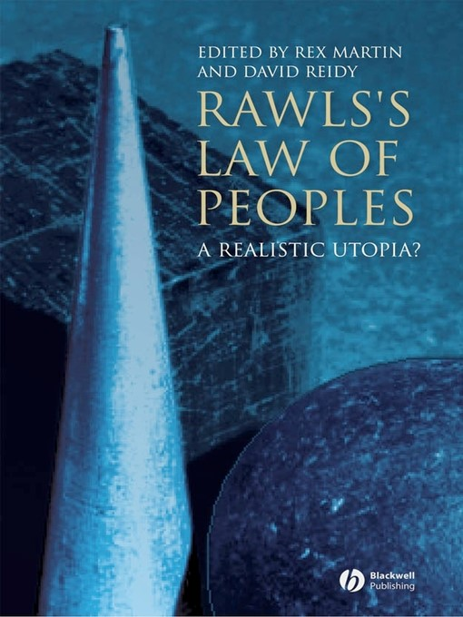 Title details for Rawls's Law of Peoples by Rex Martin - Available