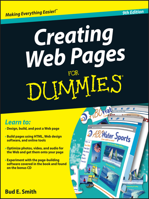 Title details for Creating Web Pages For Dummies® by Bud E. Smith - Available