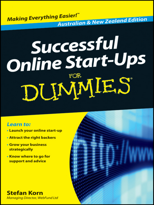 Title details for Successful Online Start-Ups For Dummies by Stefan Korn - Available