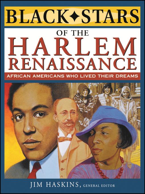 Cover image for Black Stars of the Harlem Renaissance