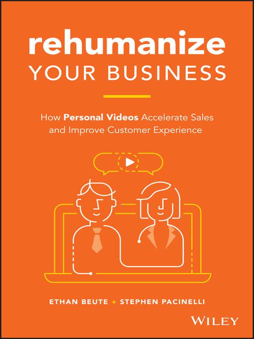 Title details for Rehumanize Your Business by Ethan Beute - Wait list