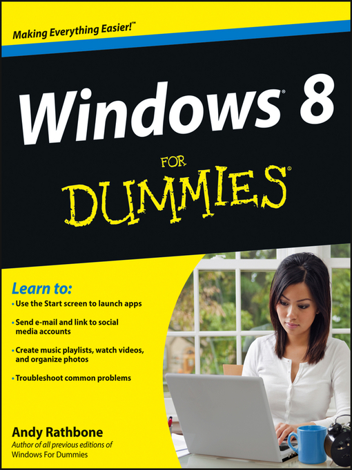Title details for Windows 8 For Dummies by Andy Rathbone - Available