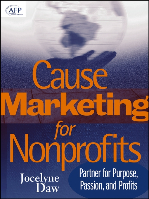 Title details for Cause Marketing for Nonprofits by Jocelyne Daw - Available