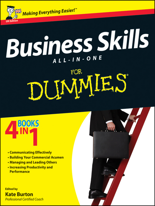 Title details for Business Skills All-in-One For Dummies by Kate Burton - Available