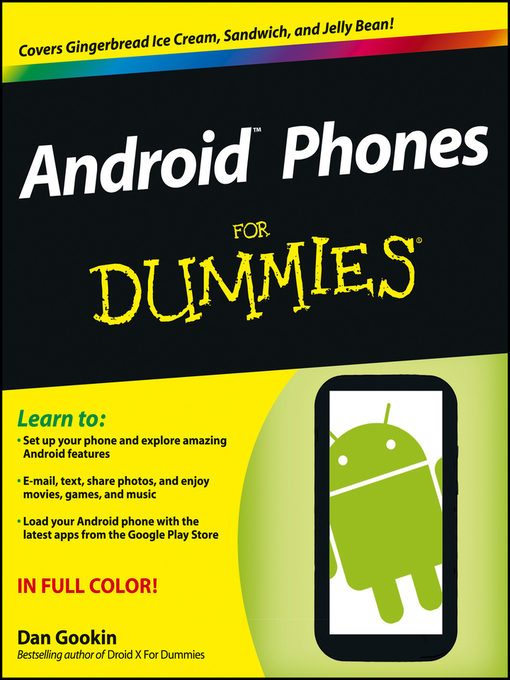 Title details for Android Phones For Dummies by Dan Gookin - Available