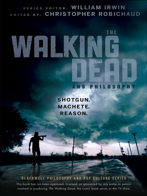 Cover of The Walking Dead and Philosophy